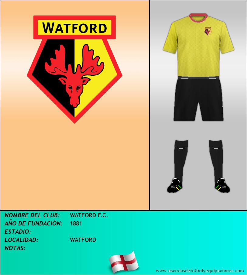Escudo de WATFORD F.C.