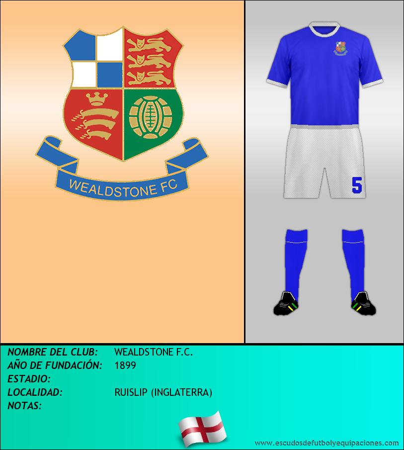 Escudo de WEALDSTONE F.C.