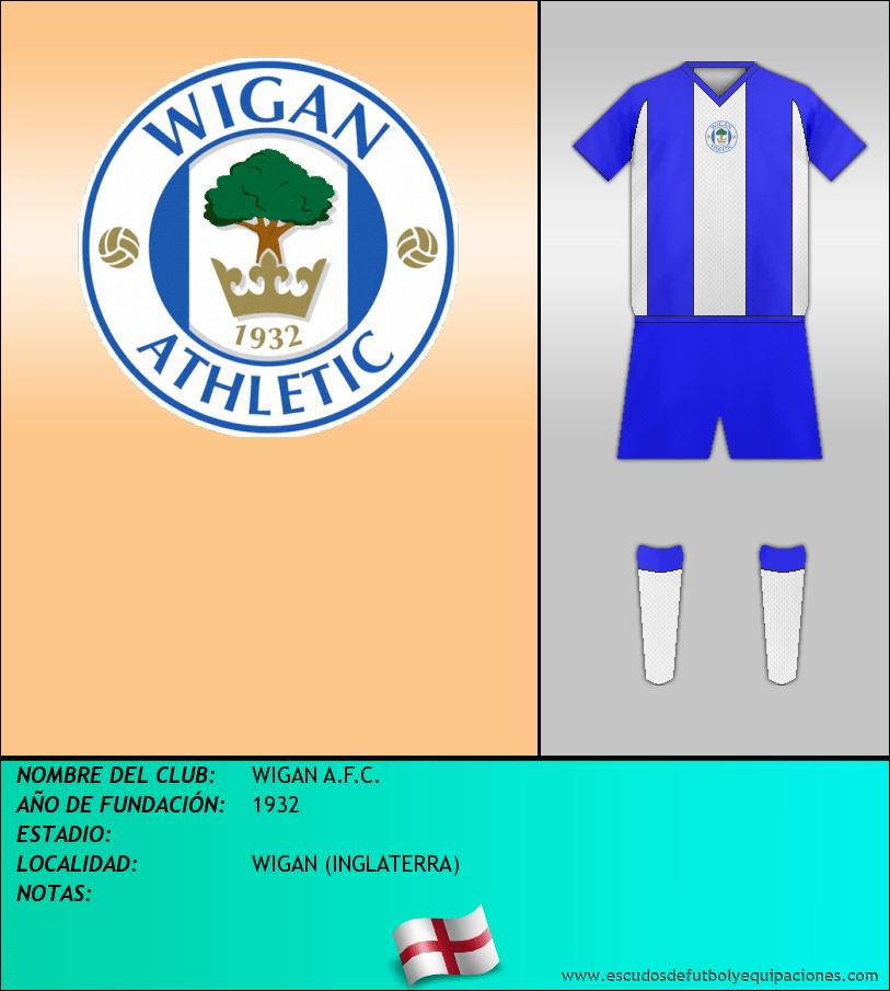 Escudo de WIGAN A.F.C.