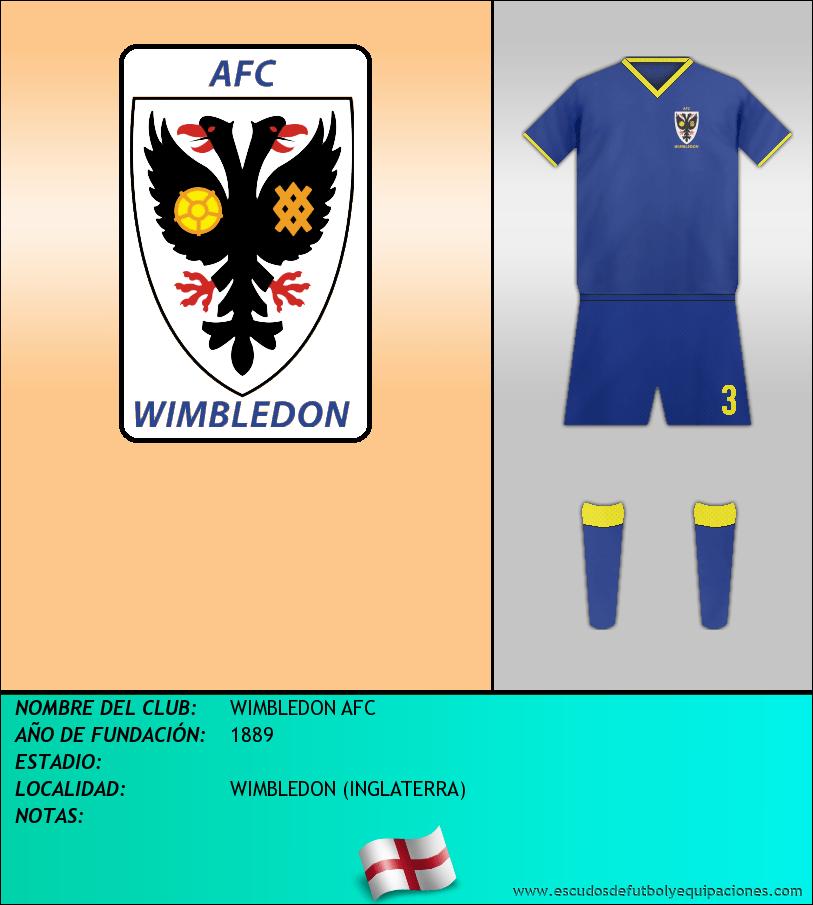 Escudo de WIMBLEDON AFC