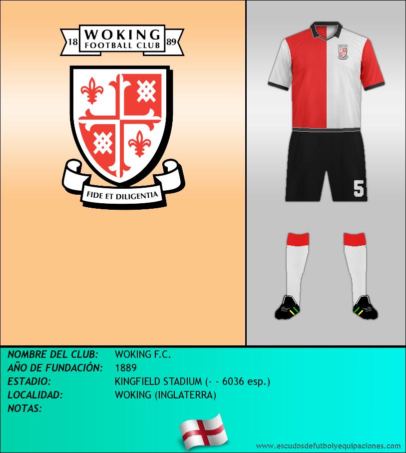 Escudo de WOKING F.C.