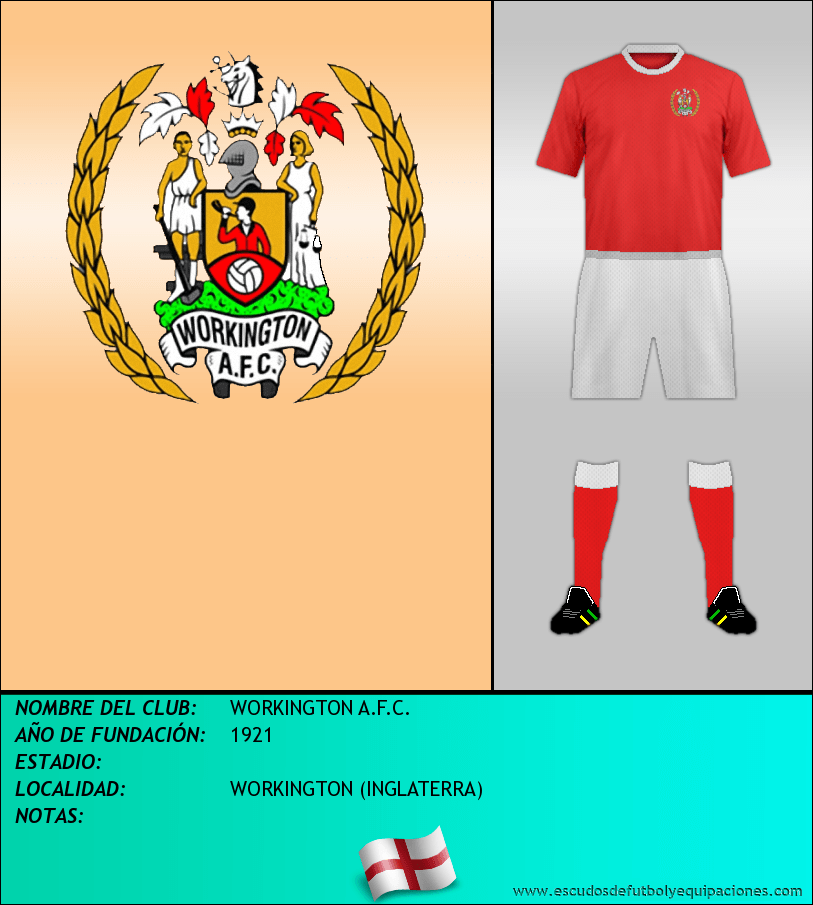 Escudo de WORKINGTON A.F.C.