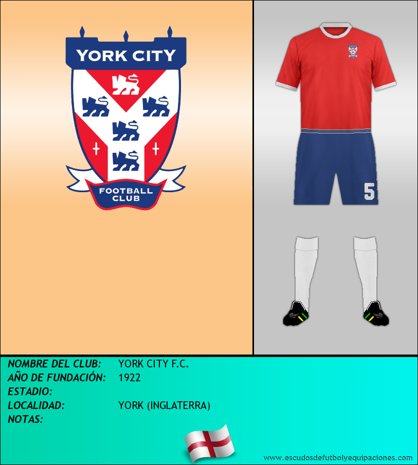 Escudo de YORK CITY F.C.