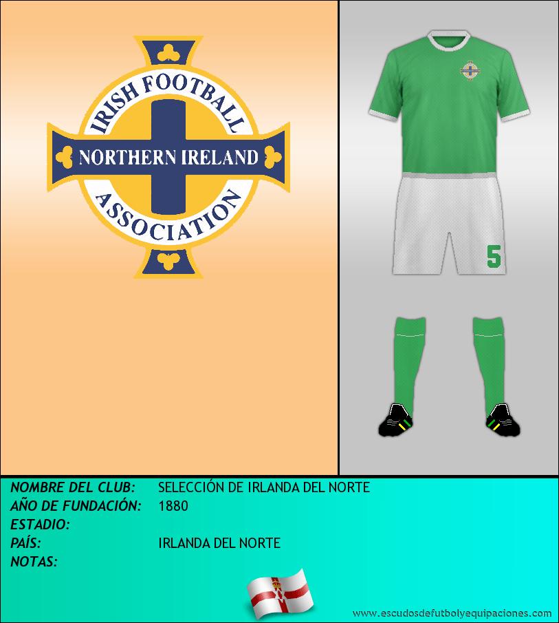 Escudo de SELECCIÓN DE IRLANDA DEL NORTE