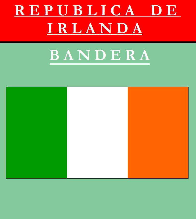 Escudo de BANDERA DE IRLANDA
