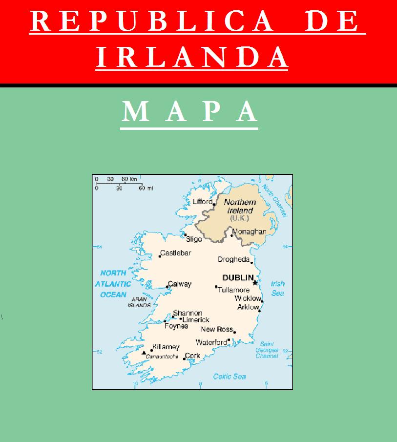 Escudo de MAPA DE IRLANDA