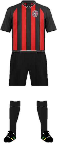 Equipación BOHEMIAN FC