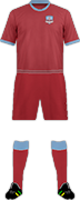 Equipación GALWAY UNITED FC
