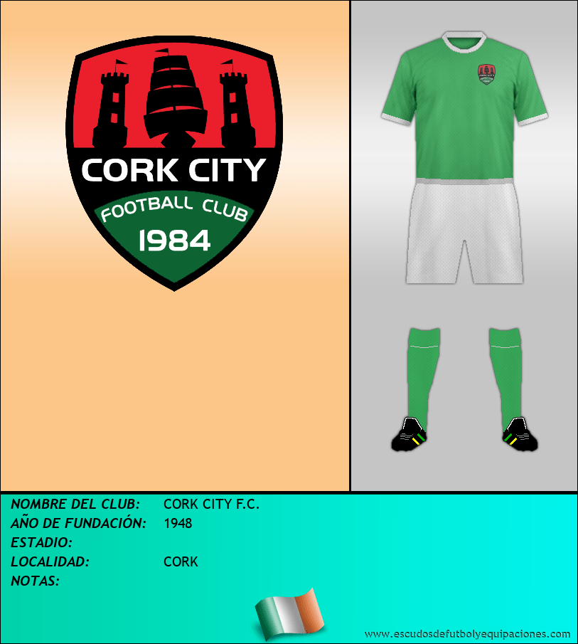 Escudo de CORK CITY F.C.