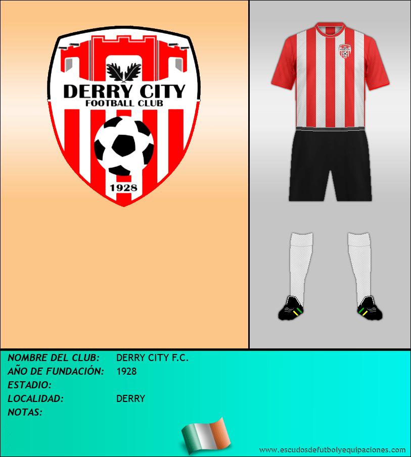 Escudo de DERRY CITY F.C.