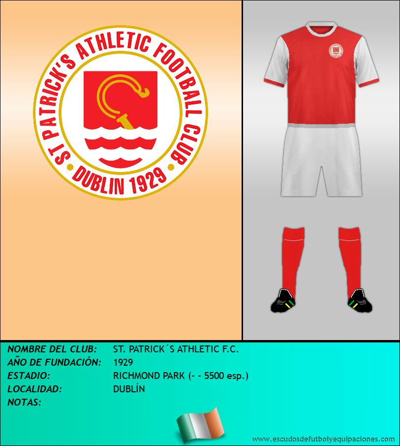 Escudo de ST. PATRICK´S ATHLETIC F.C.