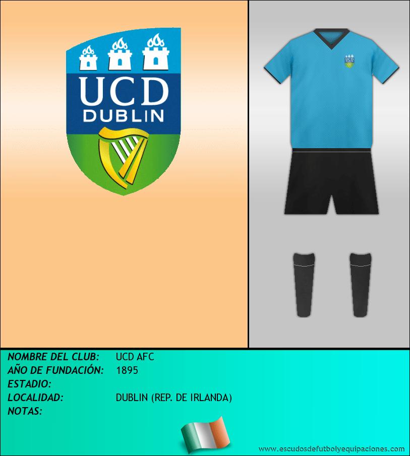Escudo de UCD AFC