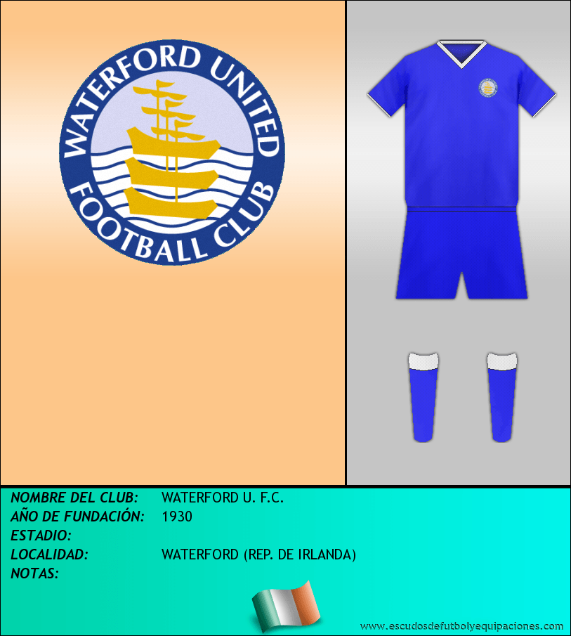 Escudo de WATERFORD U. F.C.