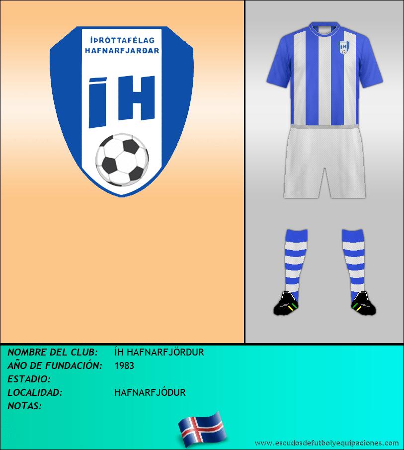 Escudo de ÍH HAFNARFJÖRDUR