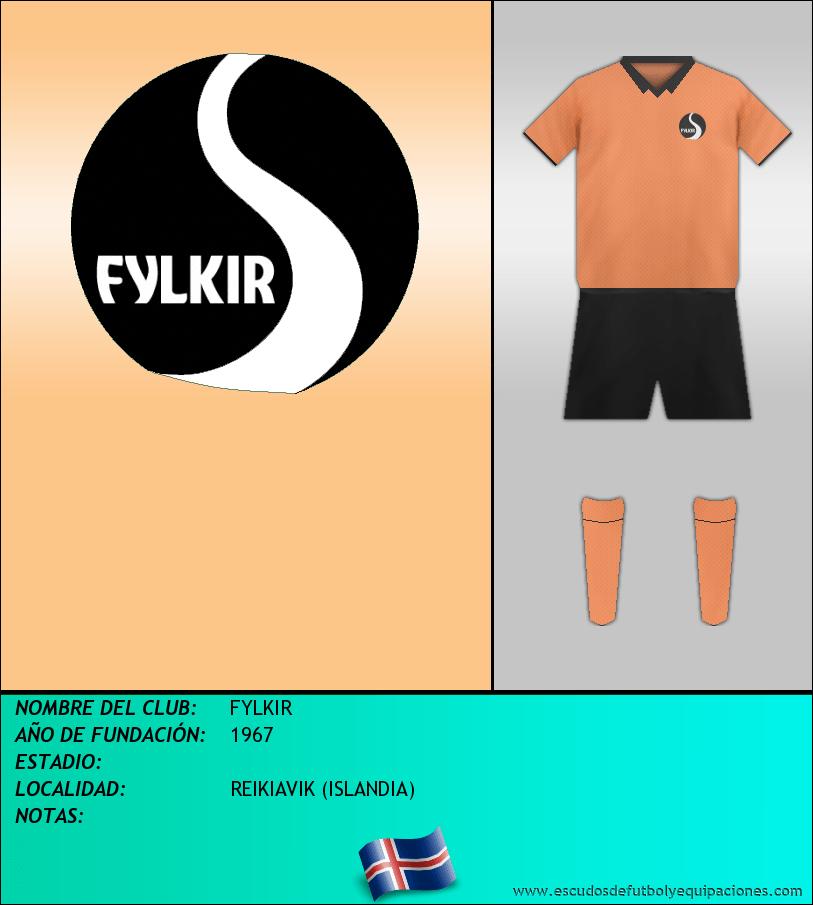 Escudo de FYLKIR
