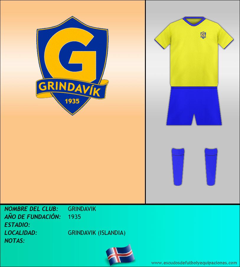 Escudo de GRINDAVIK