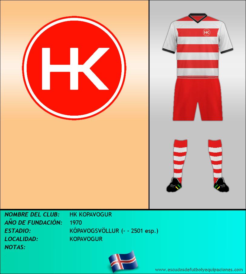 Escudo de HK KOPAVOGUR