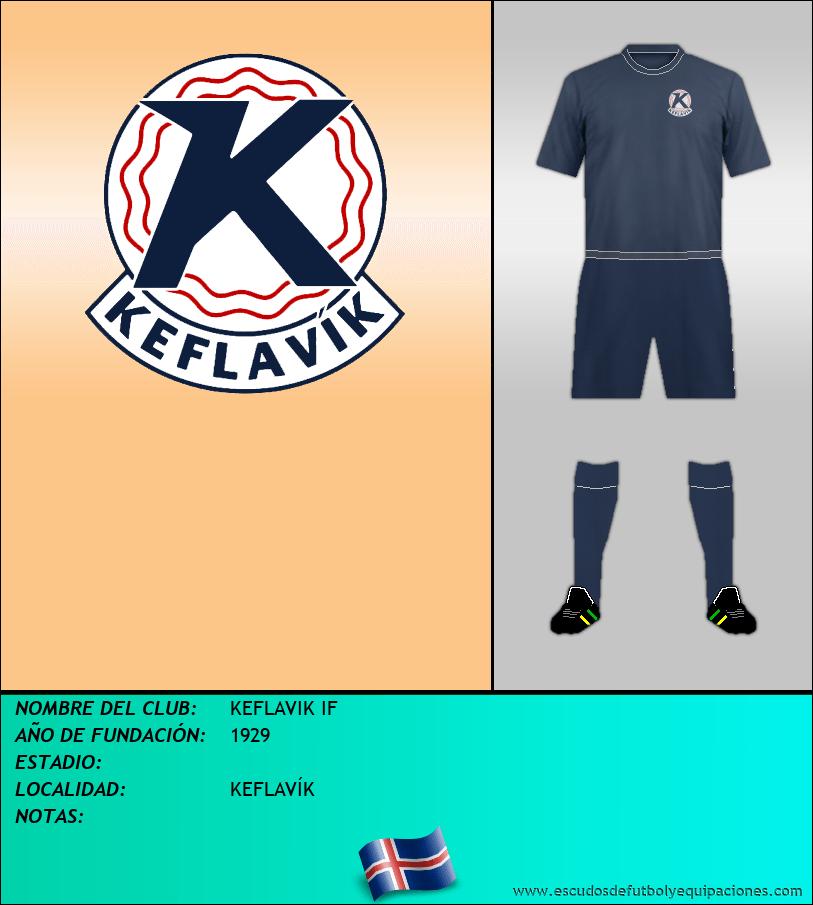 Escudo de KEFLAVIK IF
