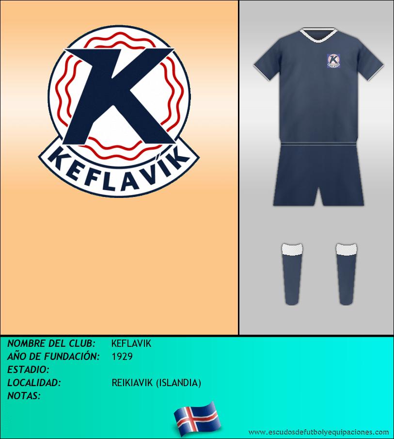 Escudo de KEFLAVIK