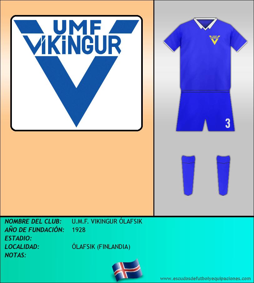 Escudo de U.M.F. VIKINGUR ÓLAFSIK