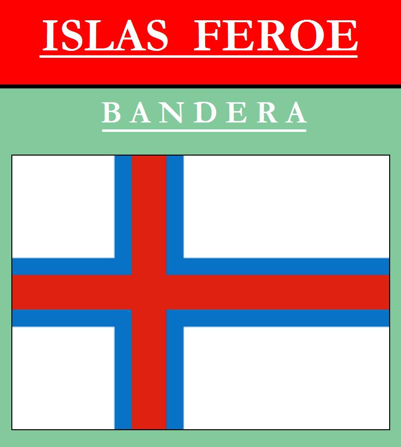 Escudo de BANDERA DE ISLAS FEROE