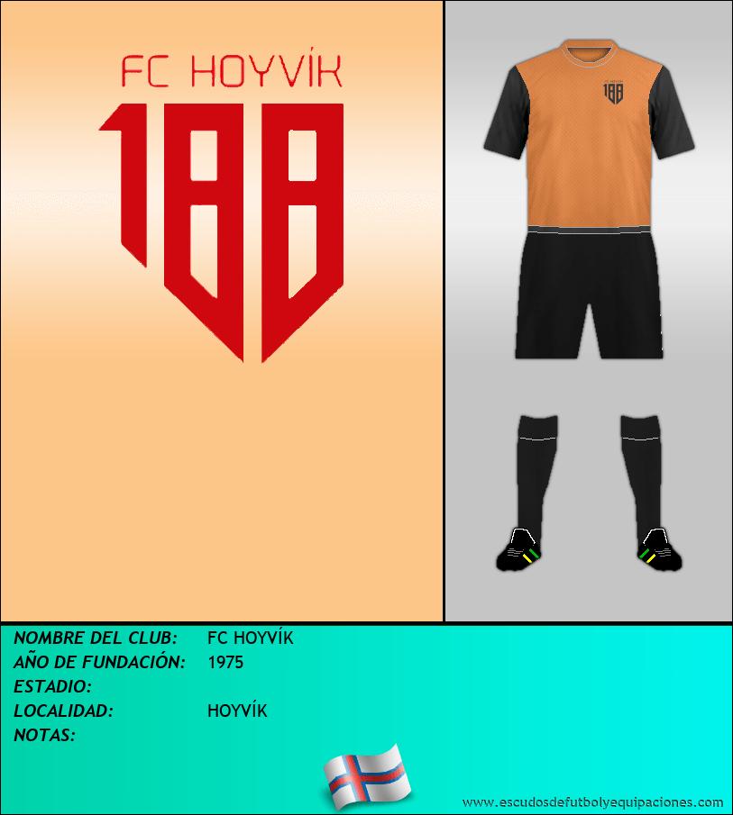 Escudo de FC HOYVÍK