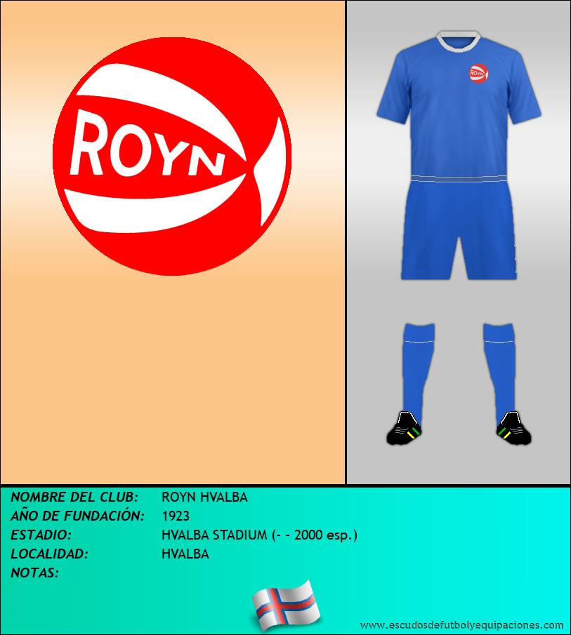 Escudo de ROYN HVALBA