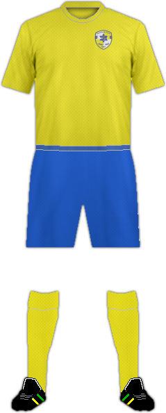 Equipación MACCABI ZVI YAVNE FC
