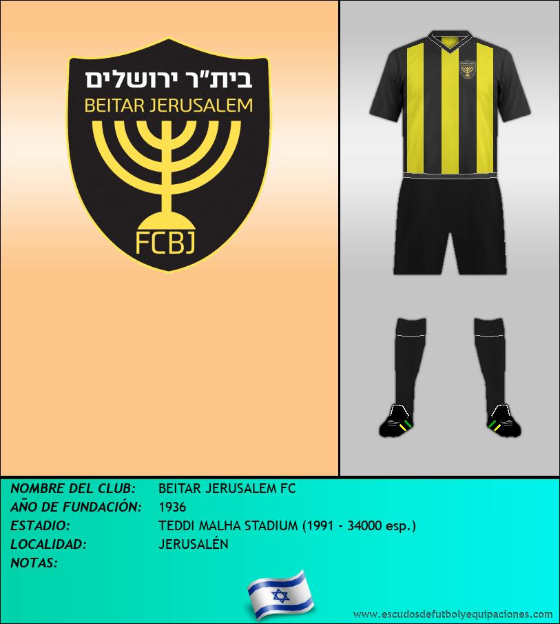 Escudo de BEITAR JERUSALEM FC