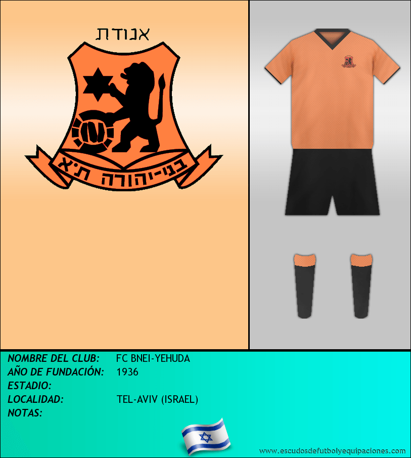 Escudo de FC BNEI-YEHUDA