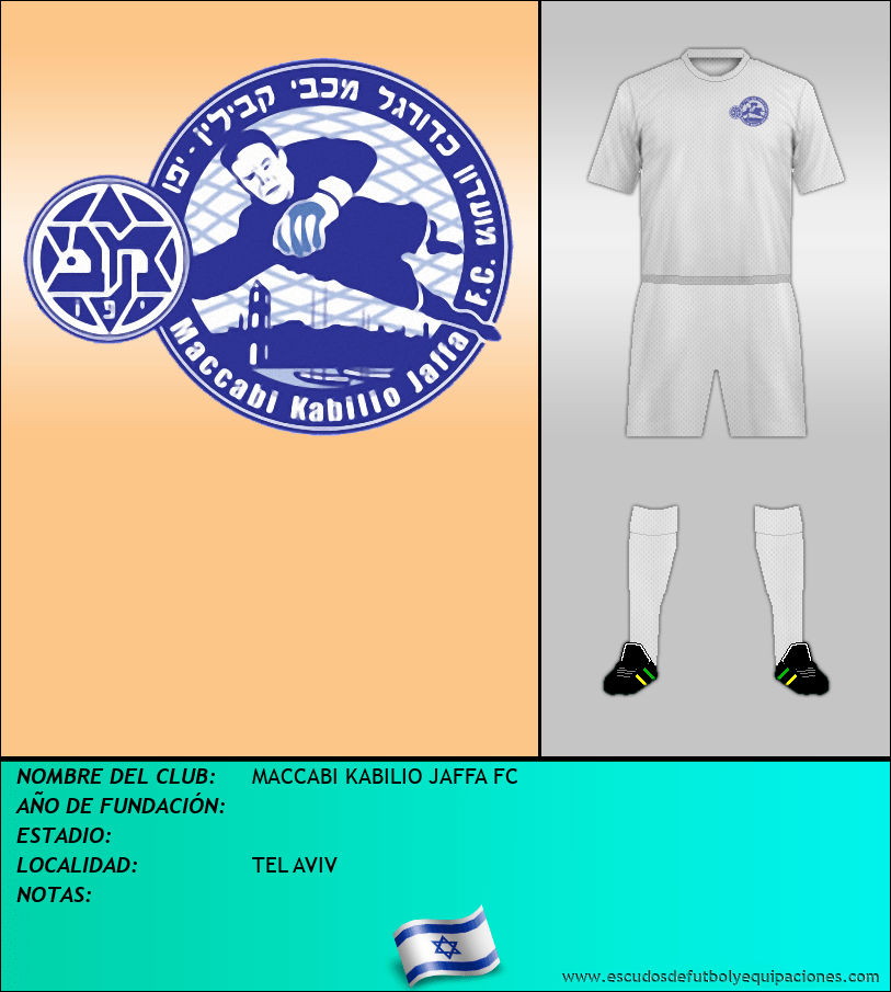 Escudo de MACCABI KABILIO JAFFA FC