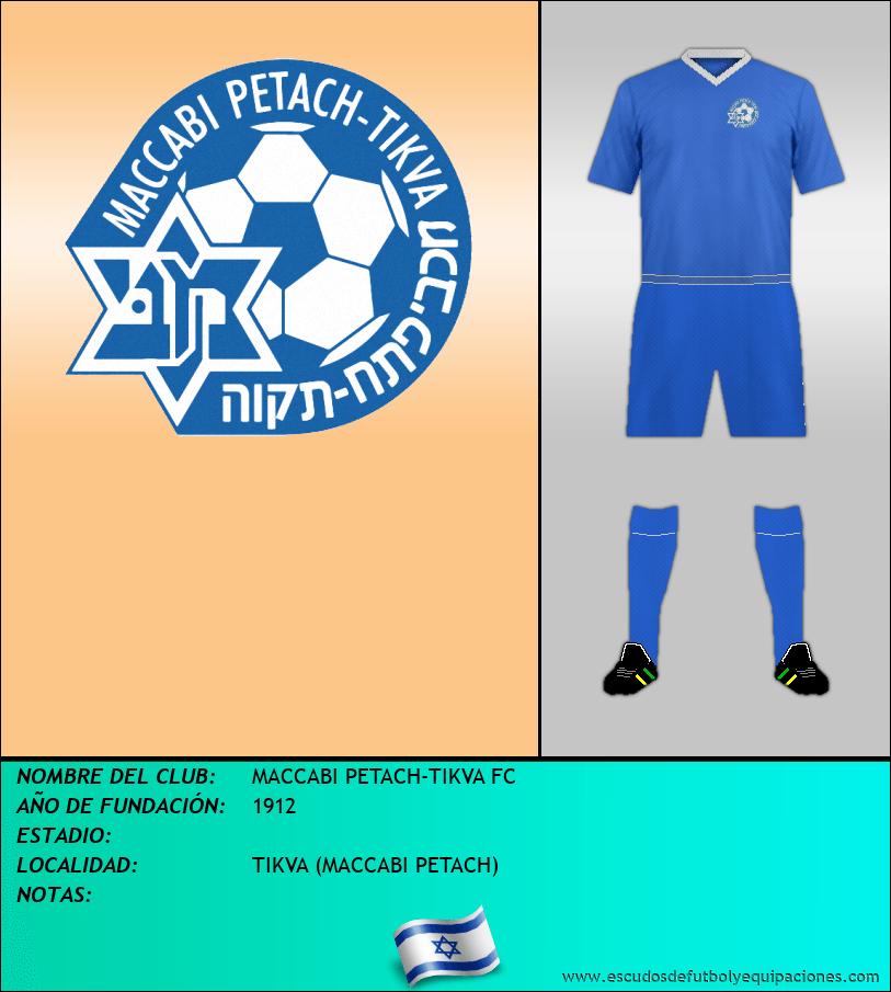 Escudo de MACCABI PETACH-TIKVA FC