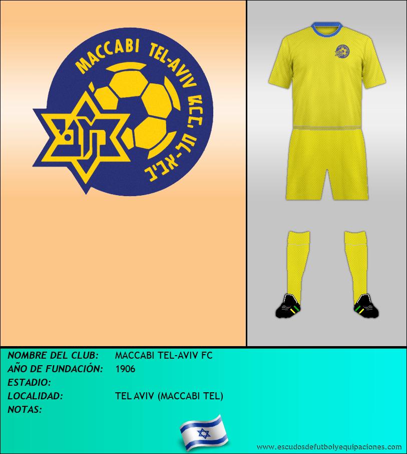 Escudo de MACCABI TEL-AVIV FC