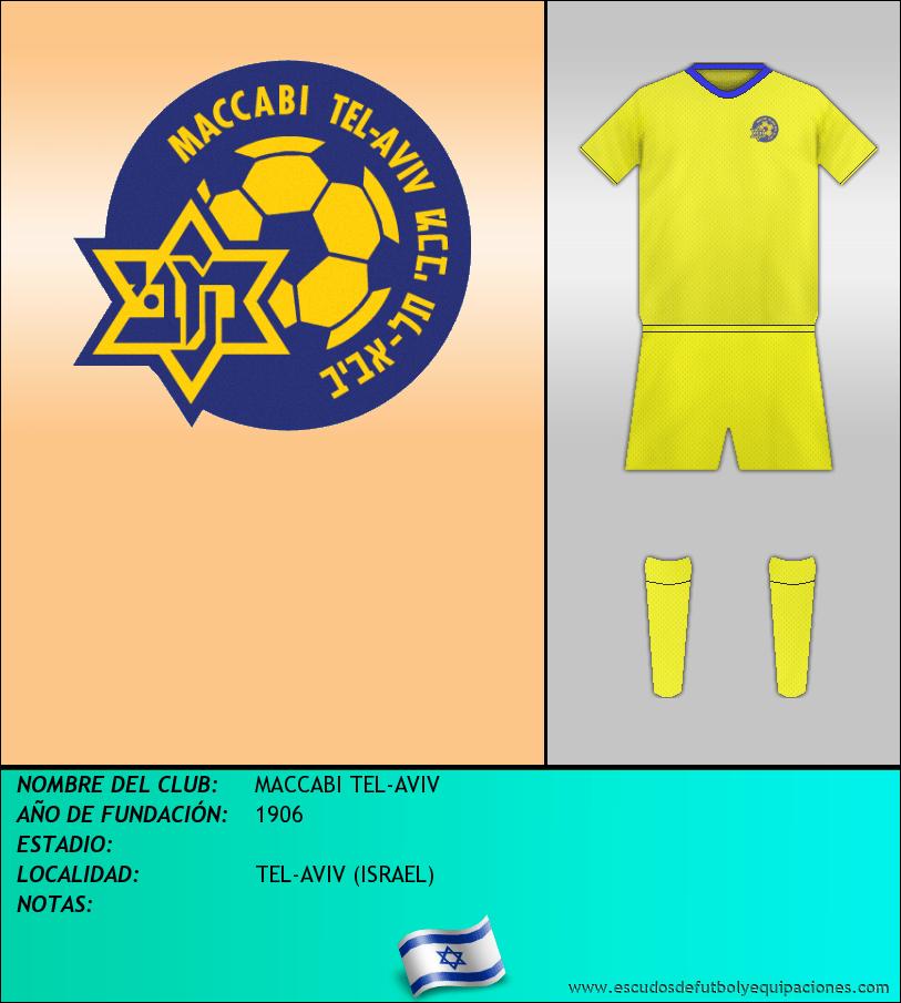 Escudo de MACCABI TEL-AVIV