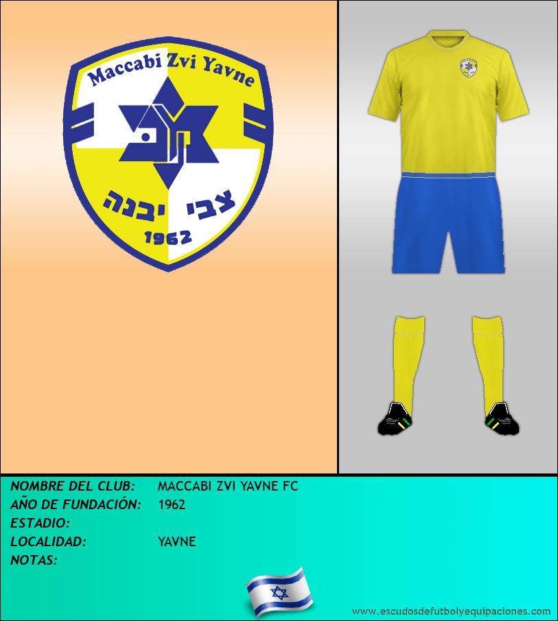 Escudo de MACCABI ZVI YAVNE FC