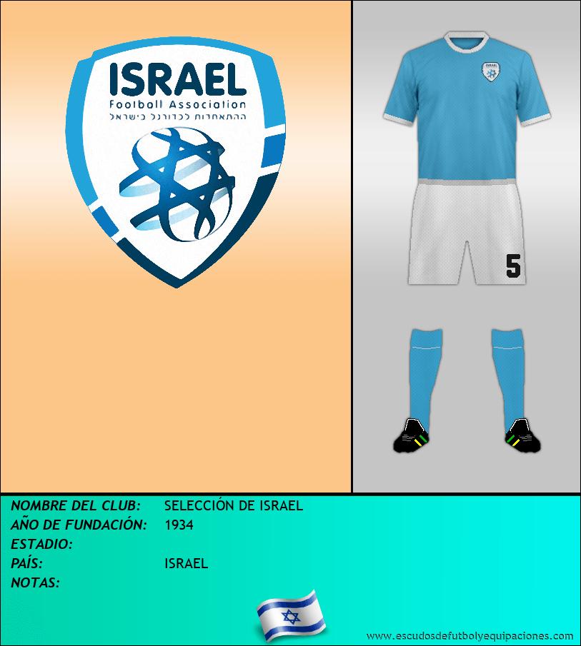 Escudo de SELECCIÓN DE ISRAEL