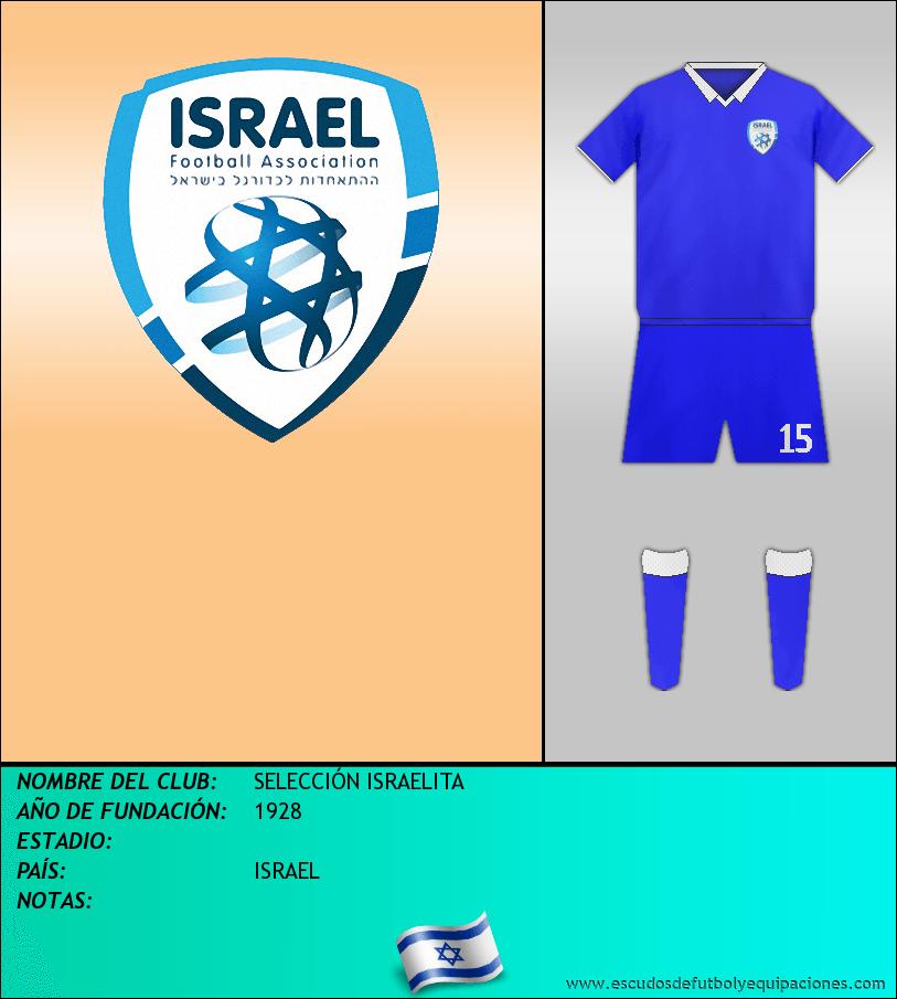 Escudo de SELECCIÓN ISRAELITA