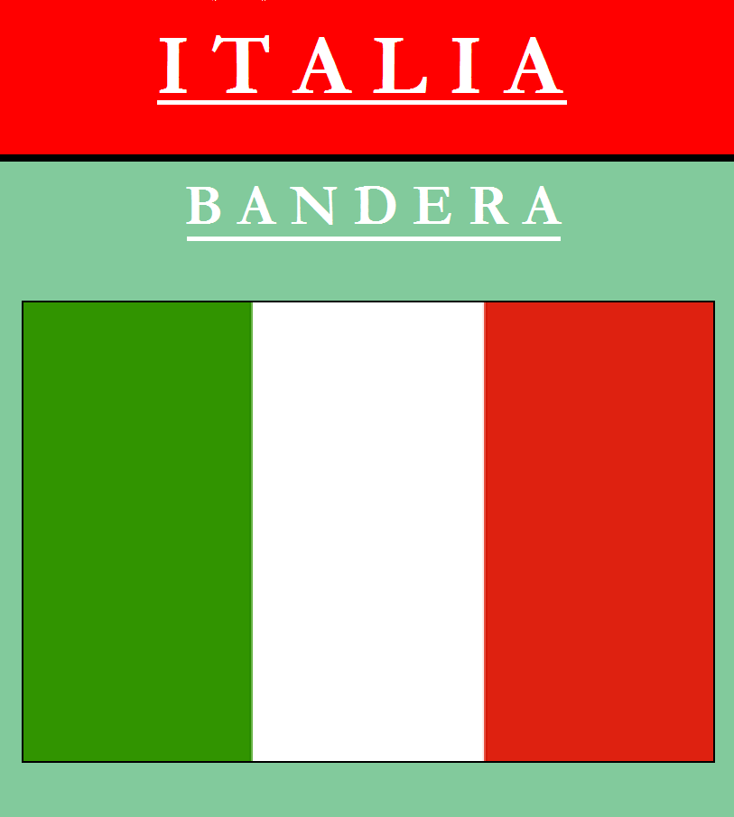 Escudo de BANDERA DE ITALIA
