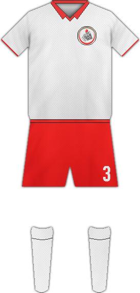 Equipación FC BARI