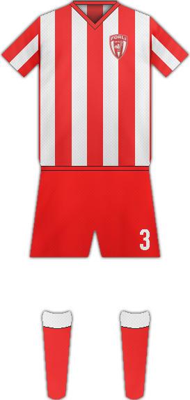 Equipación FORLÍ FC