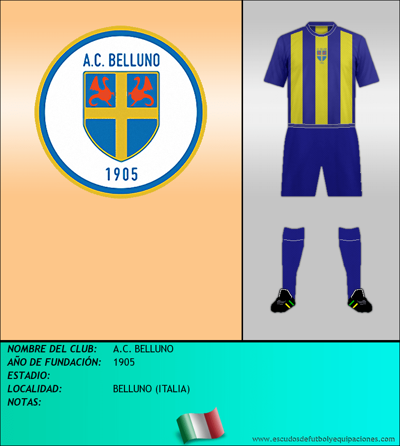 Escudo de A.C. BELLUNO