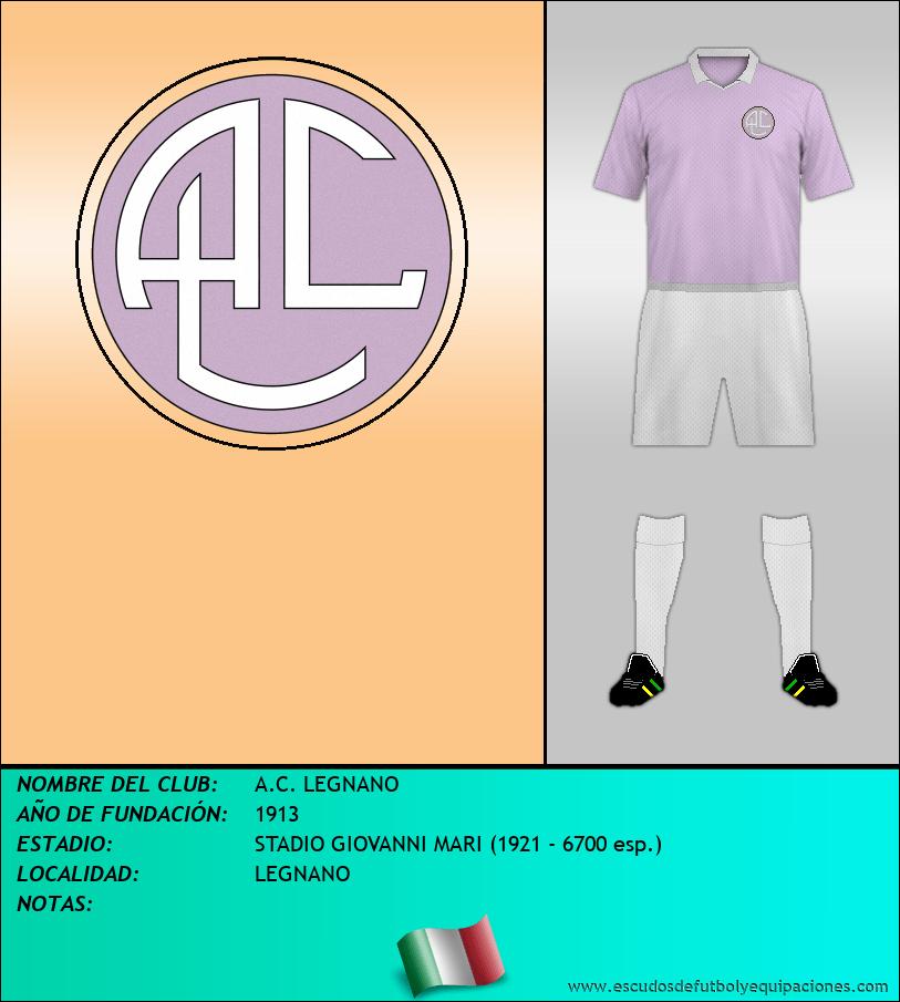 Escudo de A.C. LEGNANO