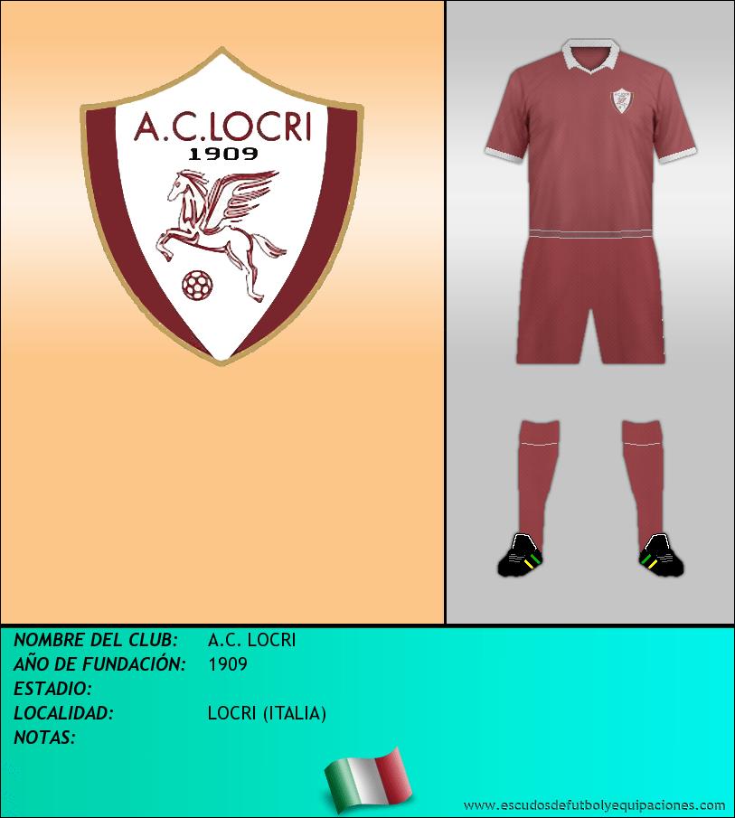 Escudo de A.C. LOCRI