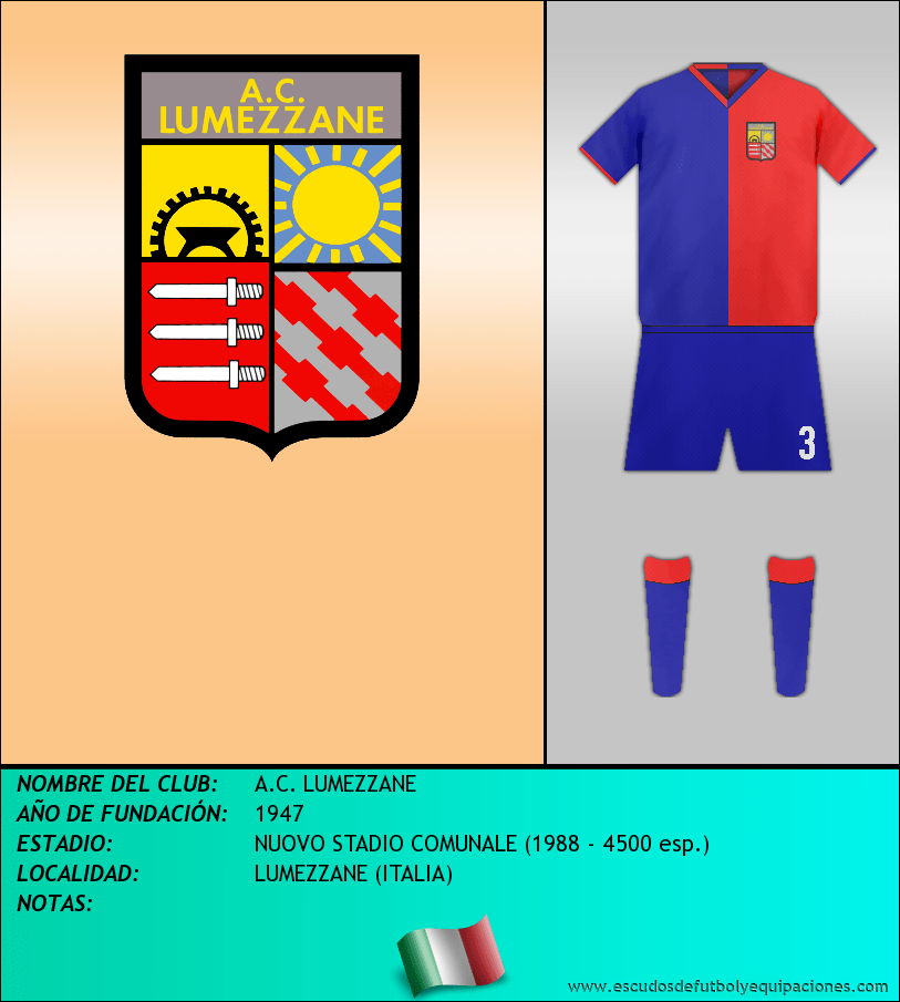 Escudo de A.C. LUMEZZANE