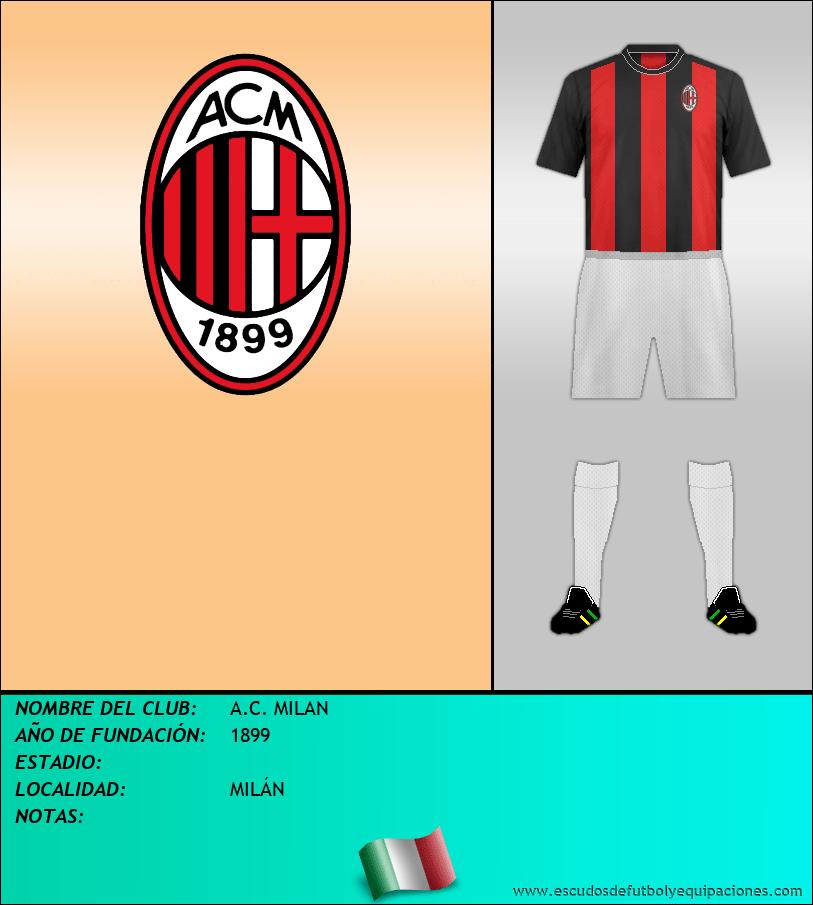 Escudo de A.C. MILAN
