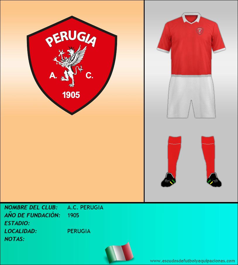 Escudo de A.C. PERUGIA
