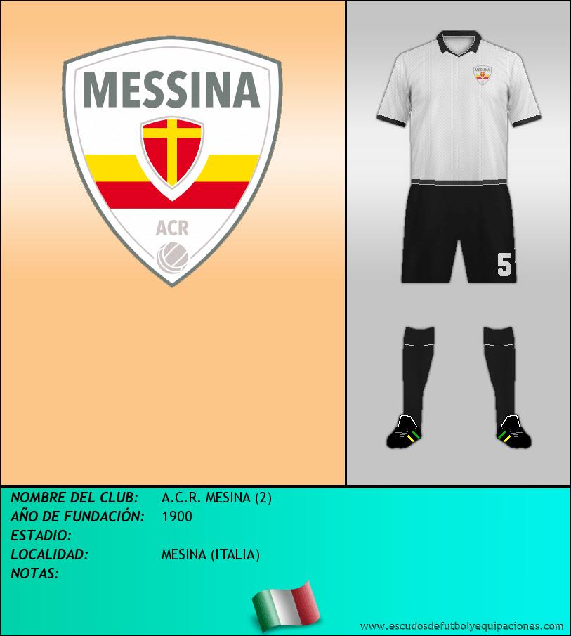 Escudo de A.C.R. MESINA (2)