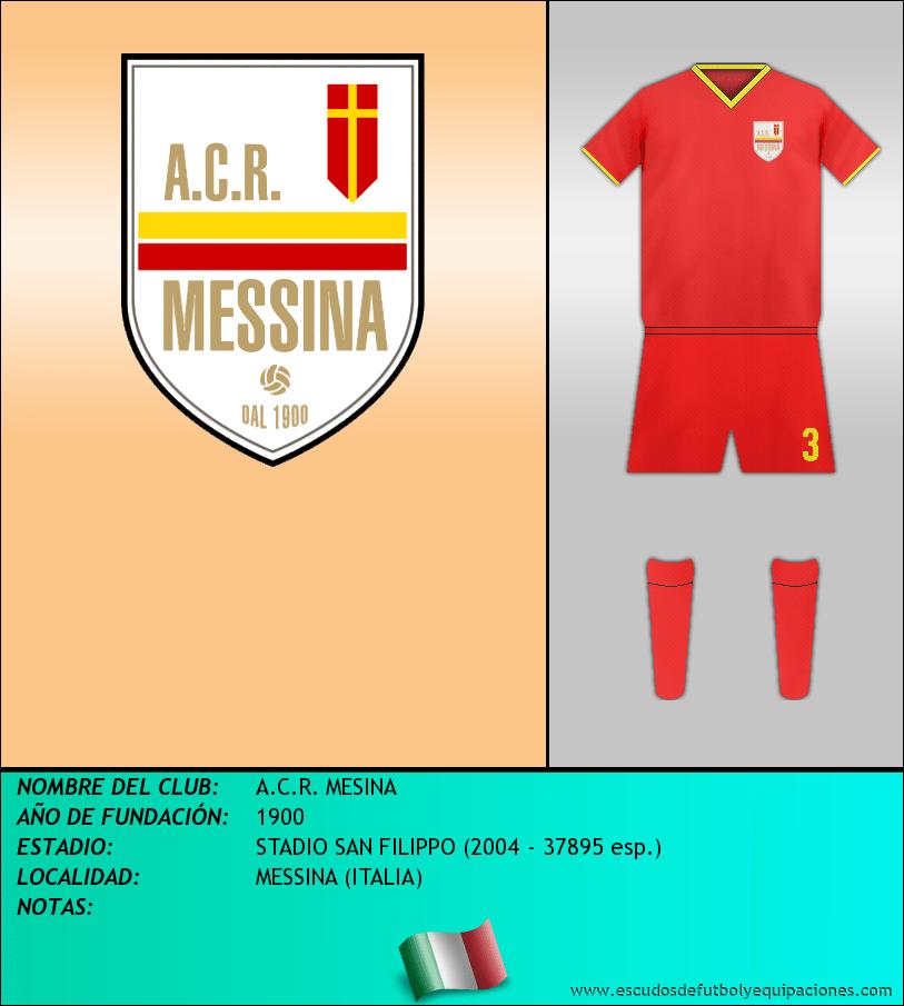 Escudo de A.C.R. MESINA