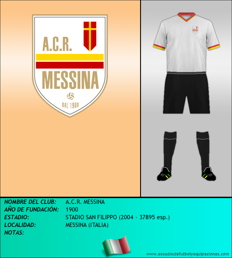 Escudo de A.C.R. MESSINA