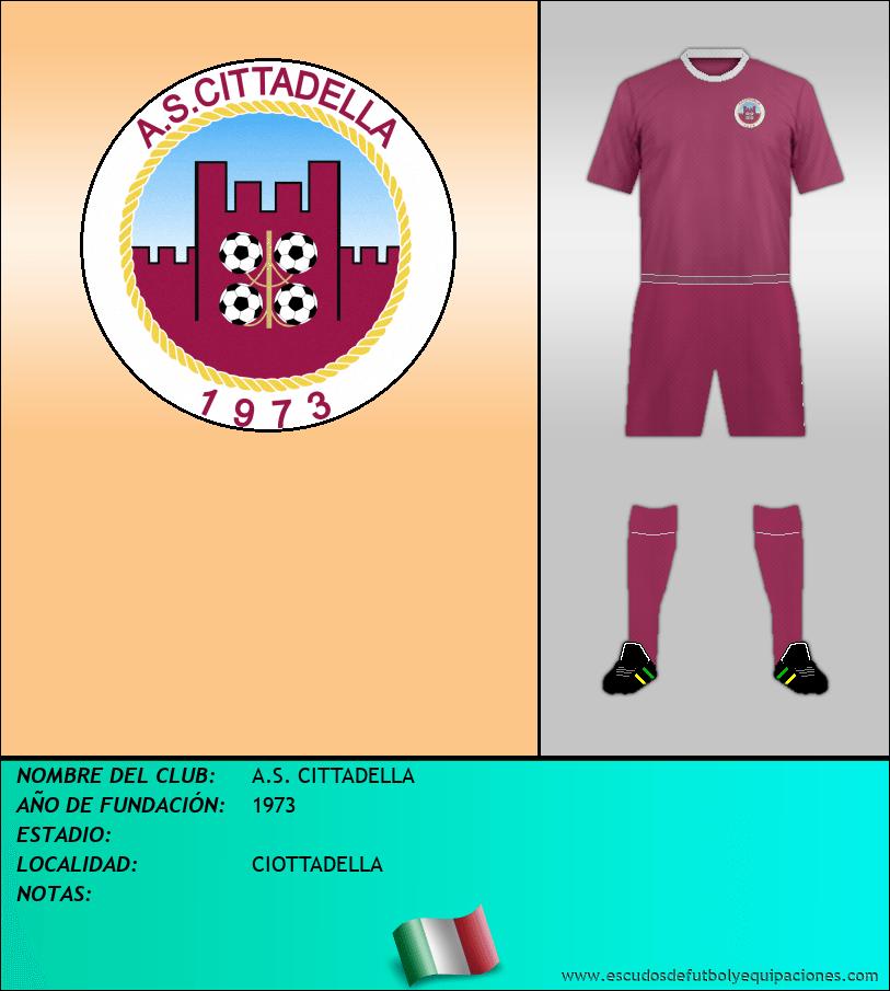 Escudo de A.S. CITTADELLA